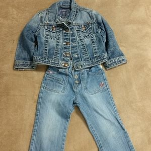 Bundle of Girls 3T -Jean Jacket and Pants